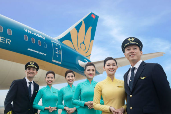 dai ly ve may bay Vietnam Airlines tai TPHCM 1