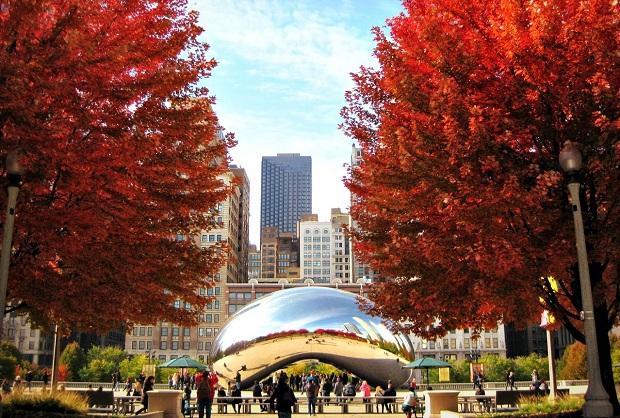 Công viên thiên niên kỷ là điểm đến không thể bỏ qua khi đặt vé máy bay đi Chicago