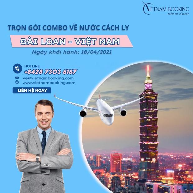 Thông tin chuyến bay Đài Loan về Việt Nam
