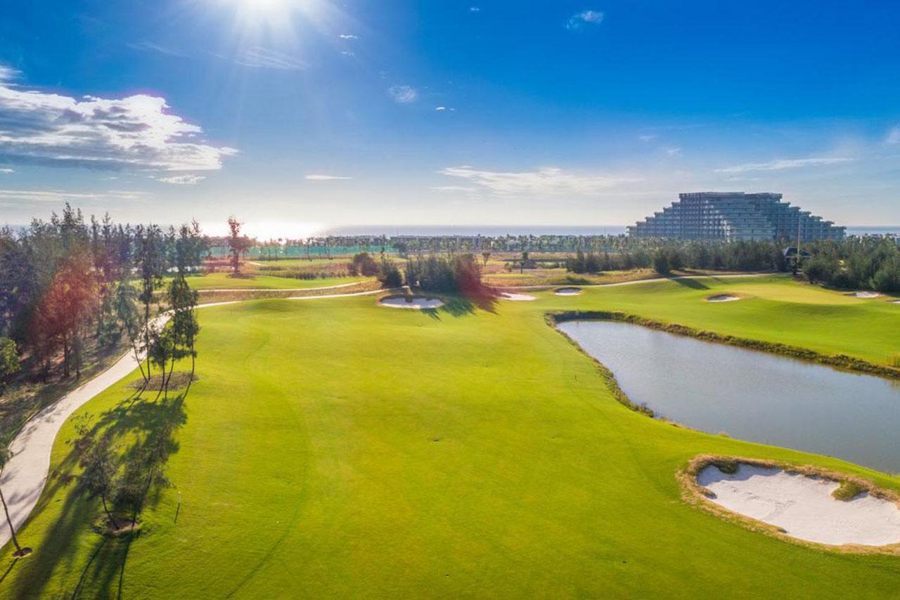 Sân golf vinpearl resort & golf nam hội an