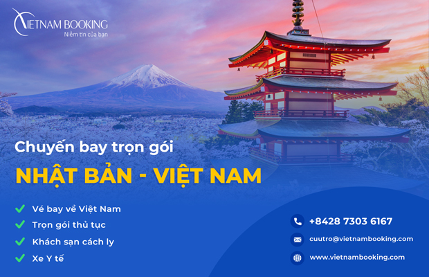 [UPDATE] Chuyến bay từ Nhật Bản về Việt Nam 2021