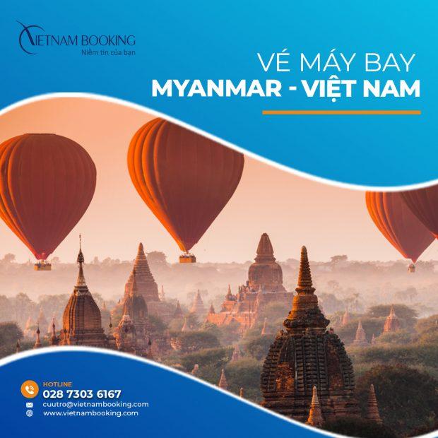 Săn vé máy bay từ Myanmar về Việt Nam trong mùa dịch Covid - 19