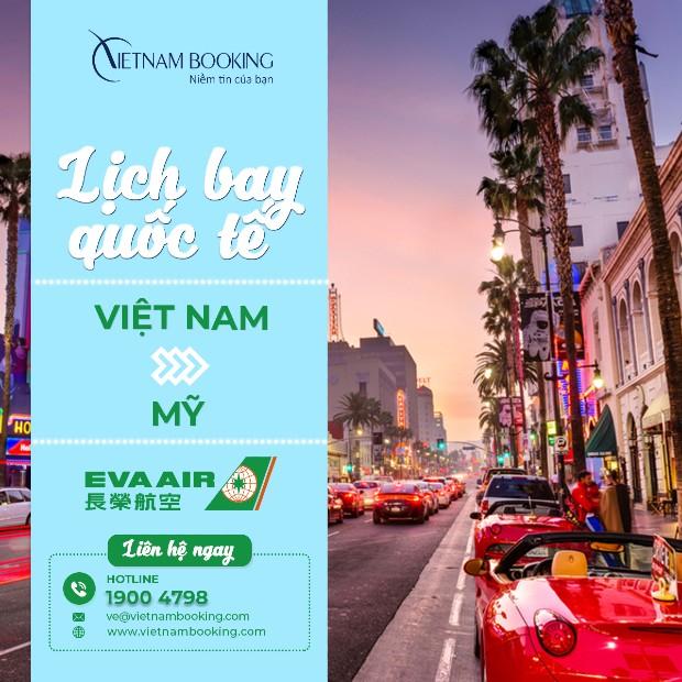 Đặt vé máy bay từ Việt Nam đi Mỹ